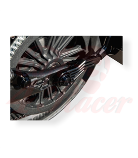 Wunderkind Indian Scout Cover rear axle INB1R Left + Right side