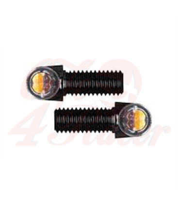 2x Motogadget  mo.blaze tens4  turn signal with position light  black
