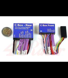 Axel Joost Electronics box version C with 2 handlebar adapter