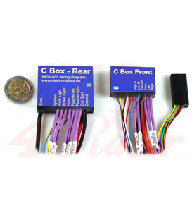 Axel Joost Electronics box version C with 1 handlebar adapter