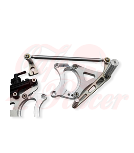 Rearsets for the K75/100/1100/K1 3-adjustable positions for rider