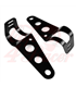 Universal headlight brackets 30-38 mm black