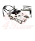 Rearsets for the K75/100/1100/K1 black/silver SHORT