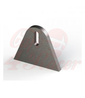 MCS Laser cut steel mounting tab