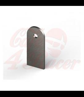 MCS Upevňovací štítok support držiak rezaný laserom