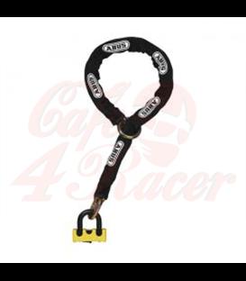 ABUS  Granit Power XS 67/105HB50 Padlock & 10KS120 Black Loop Chain Yellow
