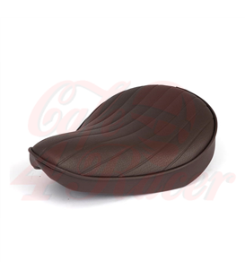 Fitzz, custom solo seat. Brown/T&R. Small. 6cm thick