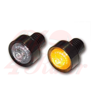 Pair of LED indicators MONO Black