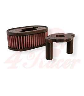Airfilter holder for the Yamaha virago series