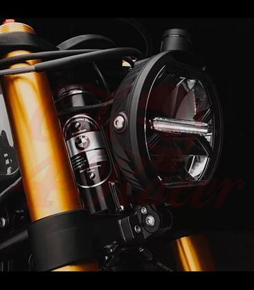BMW R9T FORK CLAMPS KIT / BMW RNINE T 2014-16  Cafe Racer  Roadster for Motoscope PRO