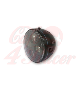 HIGHSIDER 5 3/4 inch LED Headlight ATLANTA black/chrome