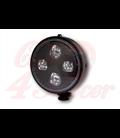 HIGHSIDER 5 3/4 inch LED Headlight ATLANTA  čierny/chróm