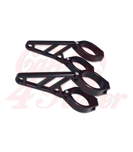 HIGHSIDER CNC Alu headlamp bracket set Z-STYLE