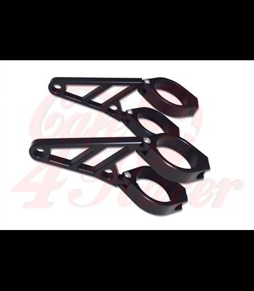 HIGHSIDER CNC Alu headlamp bracket set Z-STYLE