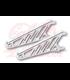 HIGHSIDER CNC Alu headlight bracket black/chrome