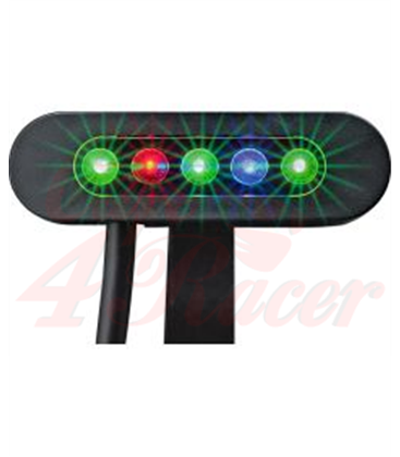 Telltale meter DAYTONA MICRO, 5 LED indicators