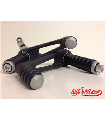 Universal rear sets for cafe racer  TAROZZI