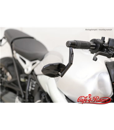 HIGHSIDER Handlebar end mirror VICTORY EVO s LED smerovkou