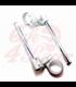 TAROZZI - low race handlebars clip ons