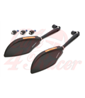 HIGHSIDER fairing mirror TOREZZO with LED indicator