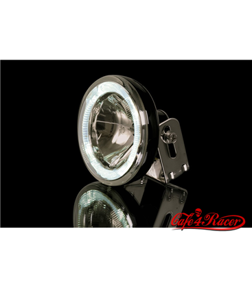 SHIN YO driving light (high beam) with LED-position light ring