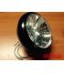 "7"" Oldskool Cafe Racer Headlight Flat Black"