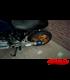 Výfuk GP štýl 03B modrý  + kolektor 4to1 pre BMW K100