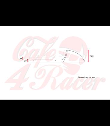 Sedadlo Cafe Racer Typ 2