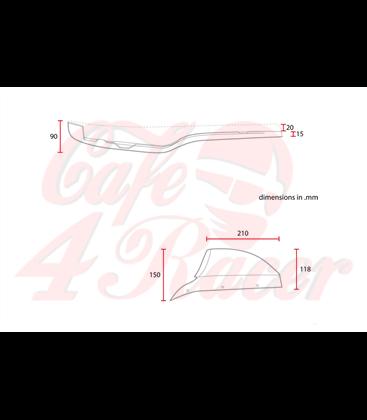 Cafe racer Scrambler CX500