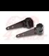Universal headlight brackets 30-38 mm black