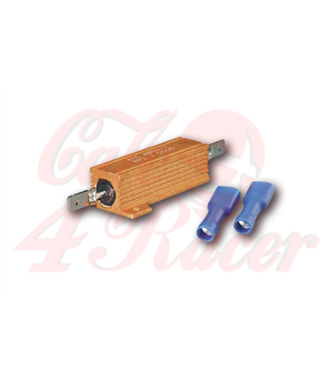 Resistor for LED-indicator, 10 Ohm, 25 Watt