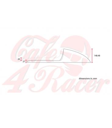 Sedadlo Cafe Racer CR12