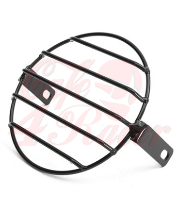 16cm 6.4 Inch Retro Grill Motorcycle Headlight Lamp Cover SCR2