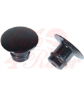 HIGHSIDER CNC cap for M10 mirror thread, black