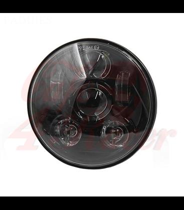 """5-3/4 5.75""""  Harley Hlavné LED svetlo čierne"""