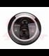 "5-3/4 5.75""  Harley Hlavné LED svetlo čierne Angel Eye"