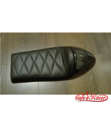 Cafe Racer seat CR12 Black