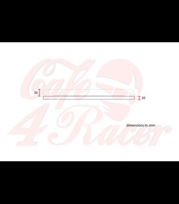 Cafe racer Scrambler Typ7 Čierne