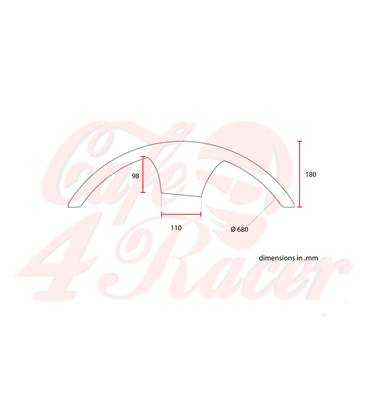 Universal Front Fender No1