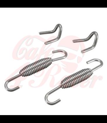 2x Exhaust Muffler Springs 2x welding fasteners