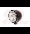HIGHSIDER 130 mm LED hlavné svetlo  MIAMI čierne/chrómové