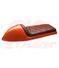 Cafe Racer seat CR12 Brown RHOMBUS