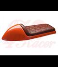 Sedadlo Cafe Racer CR12 Hnedá RHOMBUS