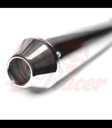 Emgo Megaton Silencer Reverse Cone Chrome