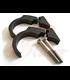 MOTOGADGET hande bar clip kit 22mm, black for motoscope mini or motosign mini