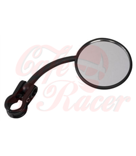 Moto-X handlebar mirror, black, left or right side