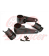 Universal headlight brackets 35/39/41mm black