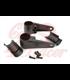 Universal headlight brackets 35/39/41mm black