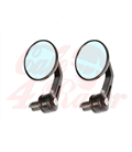 Handle Bar End Side Mirrors CR3 round