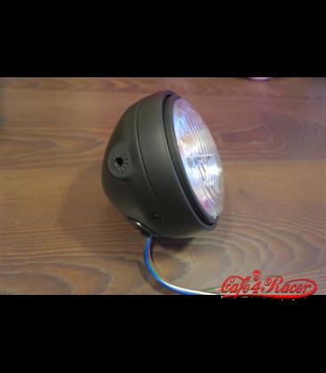 SHIN YO 5-3/4 inch hlavné svetlo   čierne
